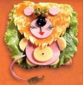 Красивые детские бутерброды фото