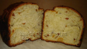 Пасхальный кулич в хлебопечке фото рецепт