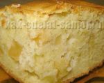 Легкий пирог с яблоками