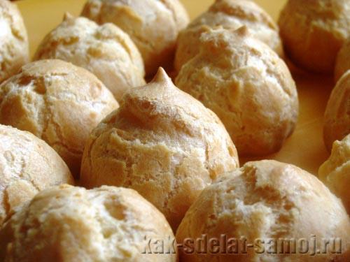 Профитроли в средиземноморском стиле, пошаговый рецепт с фото