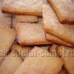 Сметанное печенье «Хрустяшки»