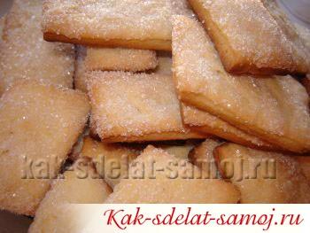 Сметанное печенье: рецепт