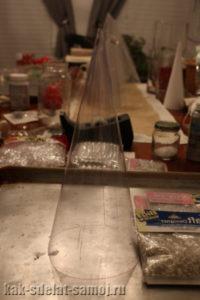 Как сделать елку из бисера