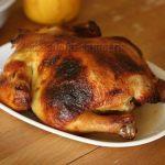 Курица с медом, запеченная в духовке