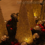 Как сделать елку из бисера: украшаем новогодний стол!