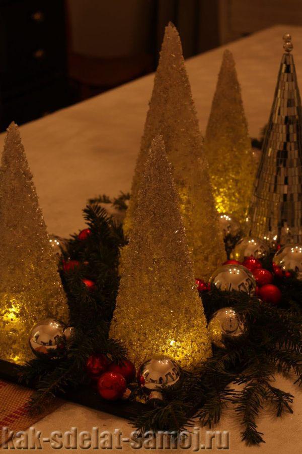 Как сделать елку из бисера: украшаем новогодний стол. kak-sdelat-samoj.ru.