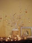 """Новогодняя композиция """"Белое дерево"""""""