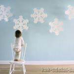 Как сделать снежинки: украшаем дом к новому году!