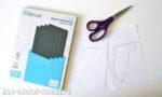 Летучая мышь из бумаги: картинка