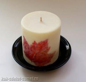 Красивая свеча