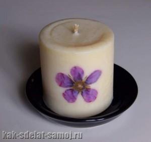 Красивая свеча, картинка