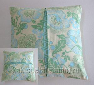 Декоративные подушки своими руками: фотографии