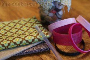 Браслеты из ткани