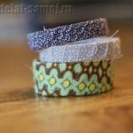 Оригинальные браслеты из ткани