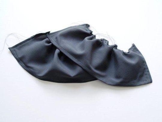 Черно-белые шарфы своими руками