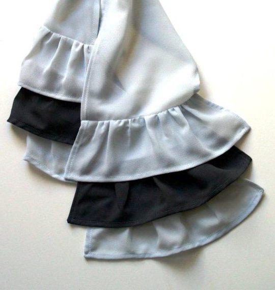 Как сшить шарфик: фото