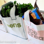 Как сшить сумку для похода по магазинам
