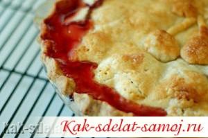 Вишневый пирог: рецепт