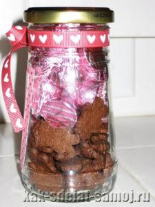 Как сделать вкусную валентинку своими руками