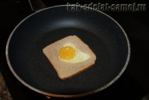 Как готовить яичницу: фото