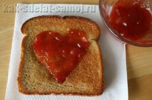Рецепты тостов на День Святого Валентина
