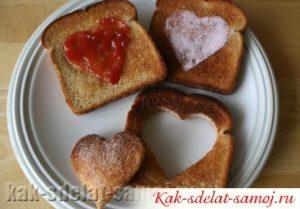 Рецепты тостов