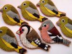 Поделки из фетра в виде птиц