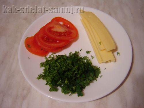 Горячая закуска из лаваша, рецепт