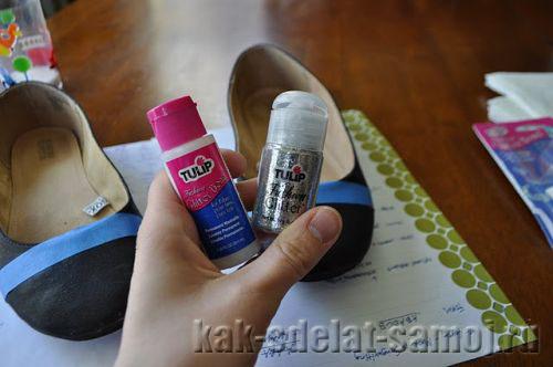Как обновить обувь своими руками