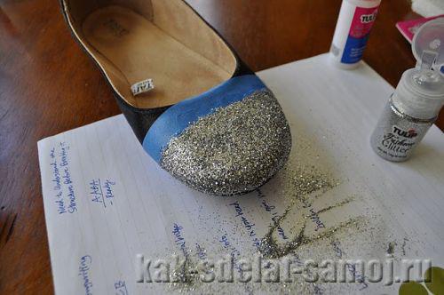 Как обновить летнюю обувь