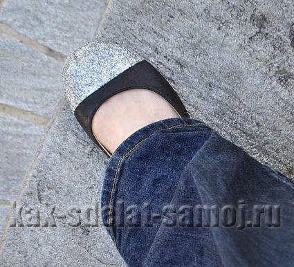 Как обновить обувь - мастер-класс