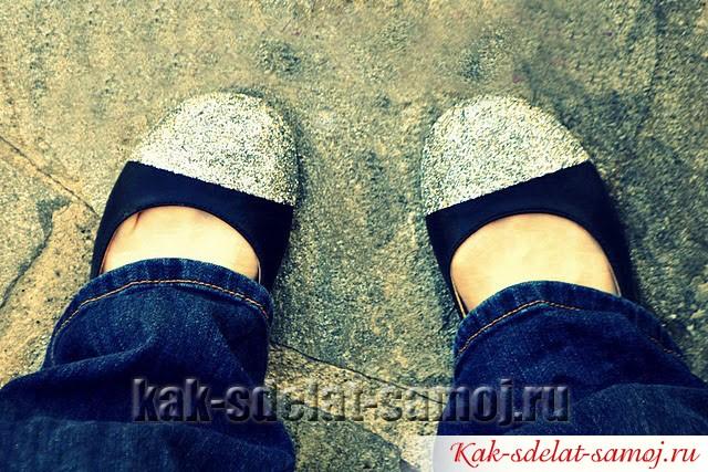 Как обновить обувь