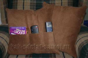 Диванная подушка своими руками