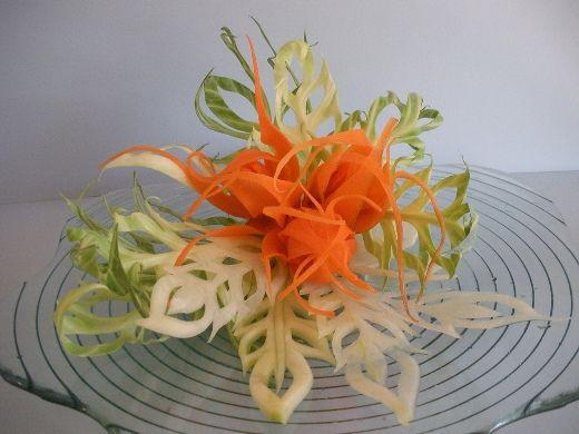 Карвинг из фруктов для новичков, фото