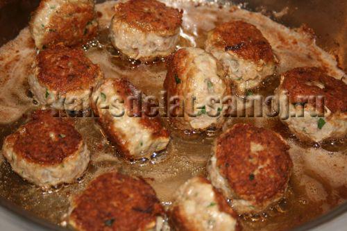 Куриные котлеты с сыром, рецепт