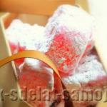 Рахат лукум, рецепт восточной сладости