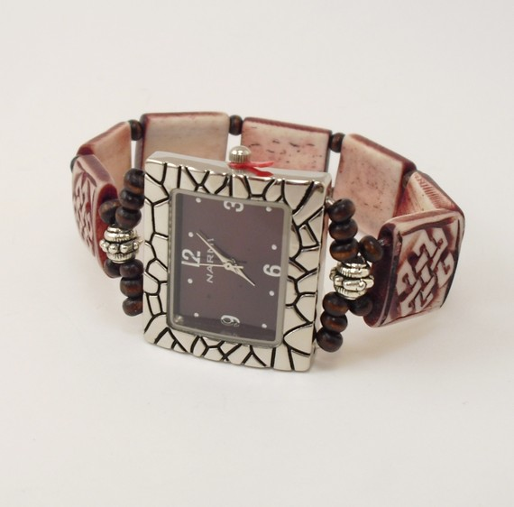 Женские часы с браслетом ручной работы