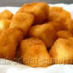 Жареный сыр (рецепт)