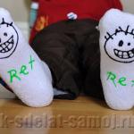Необычные носки для детей