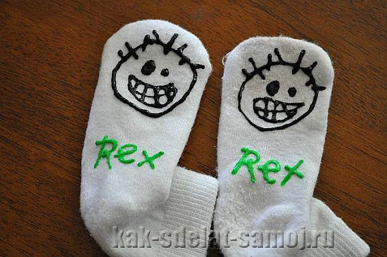 Носки для ребенка своими руками