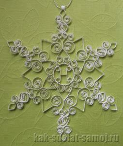 Снежинки, схемы для квиллинга