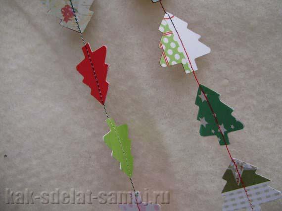 Новогодние поделки из бумаги для детей
