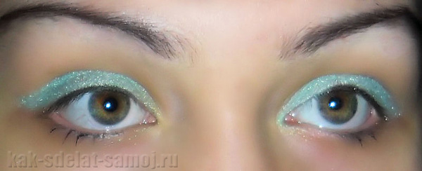 Как сделать новогодний макияж самой