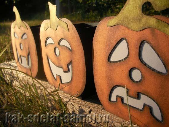 Поделки на Хэллоуин идеи