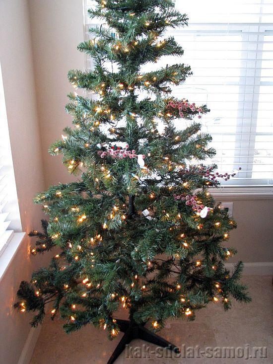 Как нарядить новогоднюю елку, картинки