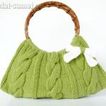 Вязанные сумки (фото моделей)