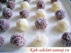 Рецепт конфет Рафаэло