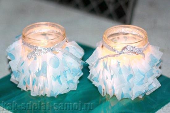 Свадебные подсвечники своими руками, фото