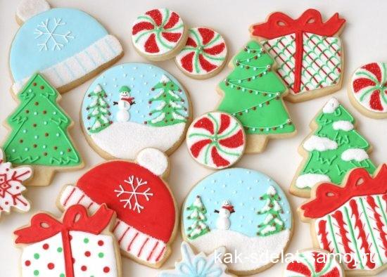 Новогоднее печенье, мастер-класс