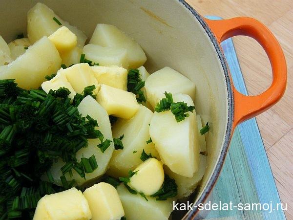 Картошка на новый год